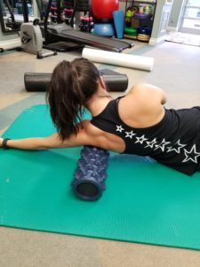 Foam Roll a Shoulder
