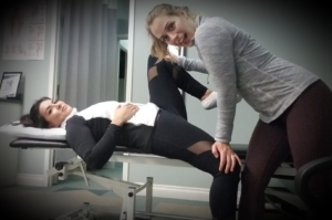 Assisted Stretching of Hip Flexors