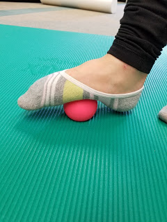 Plantar Release with a Lacrosse Ball